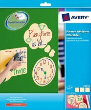 Avery Write & Wipe Assorted Shapes 24916