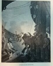 1882 Traveling Around Cape Horn illustrated
