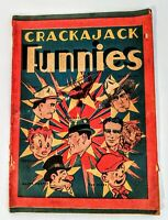 Crackajack Funnies Comic Book 1937 malt-o-meal magazine superhero graphic novel
