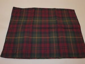 2 Ralph Lauren Ray Brooke Patchwork Plaid Quilted Standard Shams New $190 New