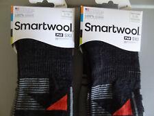 NEW 2 Pairs SmartWool PhD Ski Medium Pattern Ski Merino Wool Socks Unisex Large