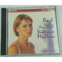 VIKTORIA MULLOVA violin concertos BACH CD 1996 Philips