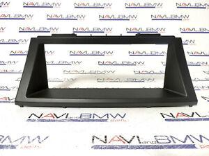 """BMW X5 X6 E70 E71 OEM GENUINE EVO SAT NAV Display surroung Bezel Frame 8.8"""" Trim"""