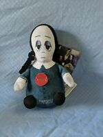 "MGM The Addams Family Wednesday 6"" Singing Squeezer Plush Theme Song 2019 NEW"