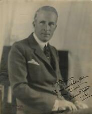 William Desmond Taylor excessively rare signed oversize photograph ins... Lot 88
