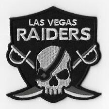 Las Vegas Raiders Iron on Patches Embroidered Patch Skull Cross Swords Emblem FN