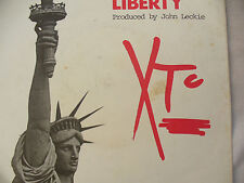 XTC STATUE OF LIBERTY p/s vs 201 A label design EX+