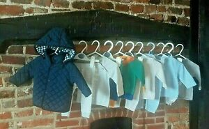 """Baby Boys 0-3 Months Clothes Bundle """" Knit Two Piece sets with Jacket  """""""