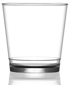Rocks Glass Clear - In2Stax Reusable Polycarbonate Plastic - 9oz - Pack of 12