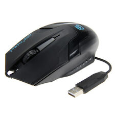 Wired USB 3D Optical LED Gaming Game Mouse Mice 1600 DPI for Laptop PC Computer