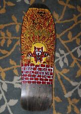 Alva Dave Duncan Tiger Skateboard Deck Kicknose Craig Christy Art NOS 1988