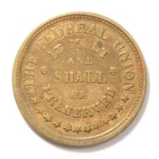 The Federal Union, Army/Navy Fuld 220-322 C Xf 1863 Civil War Token