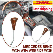 For Mercedes W124 W114 W115 R107 W126 Gear Shift Knob Luxury Zebrano Automatic