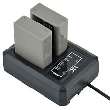 Usb Dual Double Battery Charger Station Dock Dch-Bln1 For Olympus Bln-1