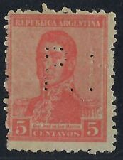 Argentina Perfin P5-P.H.: Company is unknown. Used in Buenos Aires (1918-1936)