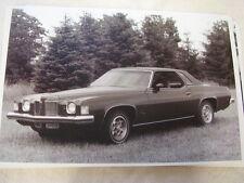 1973  PONTIAC  GRAND PRIX SJ  11 X 17  PHOTO  PICTURE