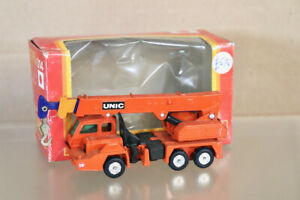 TOMICA DANDY 014 1/90 SCALE UNIC HYDRAULIC CRANE TRUCK BOXED ny