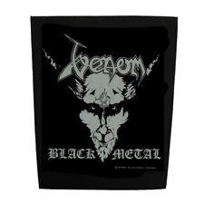 VENOM OFFICIAL BACKPATCH BLACK METAL SEW-ON BACK PATCH OLD SCHOOL BLACK METAL