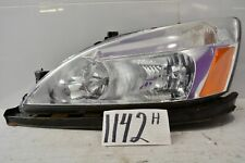 05 06 07 Honda Accord Coupe DRIVER Side Used Headlight Front Lamp #1142-H
