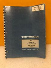 Tektronix 070-1653-01 464 Storage Oscilloscope w/ Options Service Manual