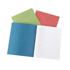 "Rhino School Exercise Books 8mm Lines A5 48 Page 165 X 203mm ""10 Pack"""