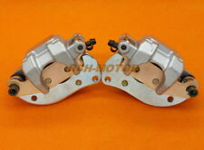 New Rear Left Right Brake Calipers 07-18 YAMAHA Grizzly 700 YFM700F/P With Pads