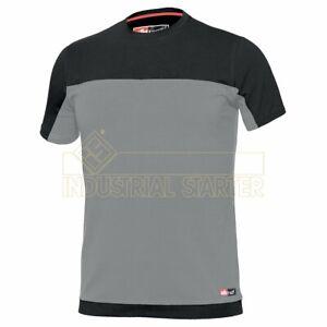 Issa Line StretchT-Shirt Stretch grigio/nero CE CAT. I - EN ISO 13688:2013