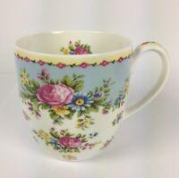 Coffee Mug Tea Cup Rose of England Fine Bone China Beautiful Colorful Floral