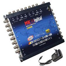 MK-Digital MS 9-16 Multischalter 9/16 Sat Verteiler Multiswitch Full HDTV Sky +