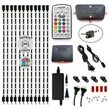 "Ultra Bright RGB LED Multicolor TV Cabinet Accent Lighting Kit, ETL 12x 24"" Bars"