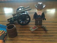 Lego System 6790/6791 Wild West Western Bandit Wheel Gun