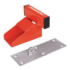 silverline heavy duty garage door defender anti theft device solid steel -  538487