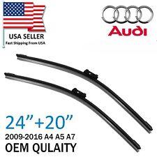 New OEM Quality Wiper Blades Front Window For Audi Q3 Q5 S5 A5 Porsche Macan 95B