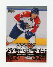 08-09 UPPER DECK YOUNG GUNS ROOKIE RC #217 MICHAEL FROLIK PANTHERS *35054