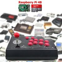 RAC-S400 Retro Arcade Game Console Raspberry PI 4 Model B 4GB 128G US Stock