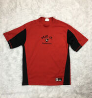 Vintage Dale Earnhardt Jr Chase Authentics T-shirt Size (L) Large Red NASCAR