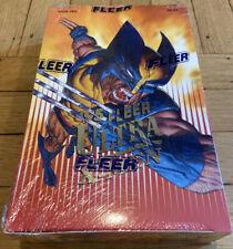 1995 Fleer ULTRA X-MEN Factory Sealed Box 36 Packs