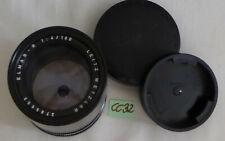 LEITZ WETZLAR ELMAR-R 1:4 / 180mm; LEICA-TELE-OBJEKTIV (CC32)