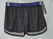 Under Armour Youth Girls Play Up Mesh Shorts Size YL