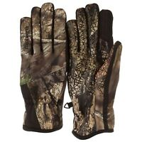HUNTWORTH Mossy Oak CAMO Waterproof GUNNER Non Slip Hunting GLOVES Mens L / XL