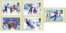 GB POSTCARDS PHQ CARDS MINT SET 131 1990 Christmas FULL SET 10% off any 5+