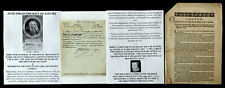KING LOUIS XVI FINANCE MINISTER FRANCE DE FLEURY LETTER SIGNED & 1701 DOCUMENT !