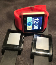 Pebble Classic Black Smart Watches Bundle 301BL no cords Free Gift And Shipping!