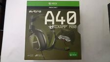 Astro Gaming A40 Gaming TR Headset + MixAmp M80 Black Olive Xbox One W/Box