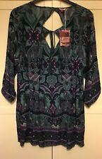 NEW! Joe Browns, Women's Teal Tunic Top / Blouse, Size 16, BNWT
