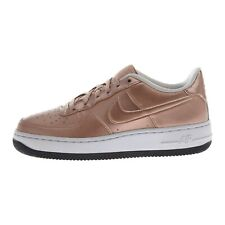 Nike YOUTH Air Force 1 SE (GS) ROSE GOLD SIZE 7Y, FITS WOMEN'S 8.5 NEW AF1