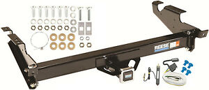 1978-1986 CHEVY G 10 20 30 TRAILER HITCH W/ WIRING KIT REESE CLASS III BRAND NEW