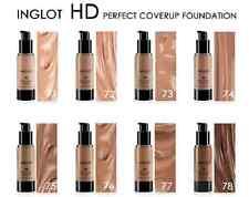 INGLOT HD Perfect Coverup Foundation  +  FREE triangle sponge applicator!