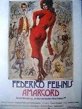 FEDERICO FELLINI + AMARCORD + MAGALI NOEL + PUPELLA MAGGIO +