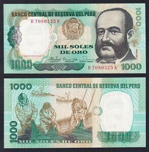 Perù 1000 soles de oro 1981 FDS/UNC  C-06